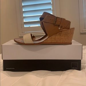 Dolce Vita Wedge with ankle strap. Size 8.5.